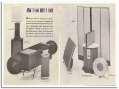 anything but a box 1964 variety enclosures speakers vintage article