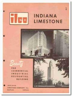 Indiana Limestone Company 1954 Vintage Catalog Stone Construction ILCo
