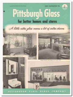 Pittsburgh Plate Glass Company 1954 Vintage Catalog Windows Home Store