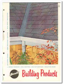 Allied Chemical Dye Corp 1954 Vintage Catalog Roofing Barrett Building