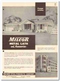 Inland Steel Products Company 1954 Vintage Catalog Milcor Metal Lath