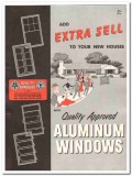 Aluminum Window Mfrs Association 1954 Vintage Catalog Extra Sell