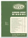 Industrial Machine Tool Company 1954 Vintage Catalog Windows Tru-Seal