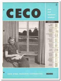 Ceco Steel Products Corp 1954 Vintage Catalog Window Casement Aluminum