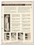 Carr Adams Collier Company 1954 Vintage Catalog Windows Bilt-Well Wood