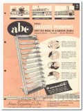 Adams Engineering Company 1954 Vintage Catalog Windows Jalousie Glass
