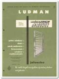 Ludman Corp 1954 Vintage Catalog Windows Jalousies Windo Tite Doors