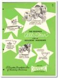 American Hardware Corp 1954 Vintage Catalog Russwin Stilemanor Haddam
