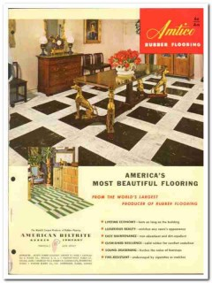 American Biltrite Rubber Company 1954 Vintage Catalog Flooring Amtico