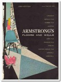 Armstrong Cork Company 1954 Vintage Catalog Tile Walls Floors Linoleum