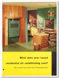 Carrier Corp 1954 Vintage Catalog Weathermaker Air Conditioning