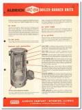 Breeze Corp 1954 Vintage Catalog Aldrich Company Heat-Pak Boiler