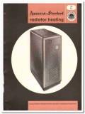 American Radiator Standard Sanitary Corp 1954 Vintage Catalog Heating