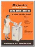 Majestic Company 1954 Vintage Catalog Heat Asbestos Home Incinerators