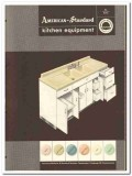 American Radiator Standard Sanitary Corp 1954 Vintage Catalog Kitchen