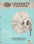 American Hardware Corp 1956 Vintage Catalog P F Corbin Door Locksets