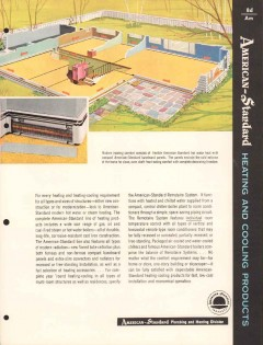 American Radiator Standard Sanitary Corp 1956 Vintage Catalog Boiler