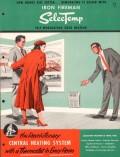 Iron Fireman Mfg Company 1956 Vintage Catalog Heating Zone SelecTemp