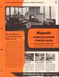 Majestic Company 1956 Vintage Catalog Heating Circulator Fireplace