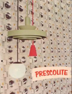 Prescolite Mfg Corp 1956 Vintage Catalog Electrical Lighting Recessed