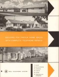 Bell Telephone System 1956 Vintage Catalog Planned Home Jack Wiring