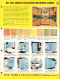 Carr Adams Collier Company 1956 Vintage Catalog Bilt-Well Cabinets