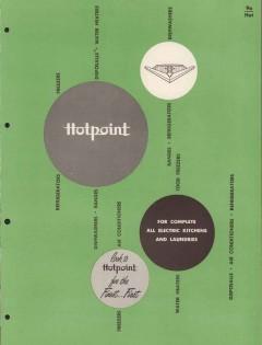 Hotpoint Company 1956 Vintage Catalog Appliances Hotpoint Kitchen