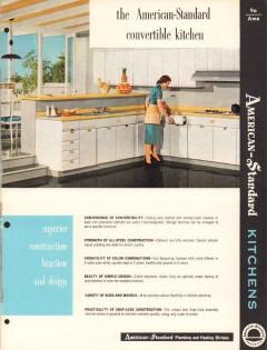 American Radiator Standard Sanitary Corp 1956 Vintage Catalog Cabinets