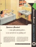 American Radiator Standard Sanitary Corp 1956 Vintage Catalog Plumbing