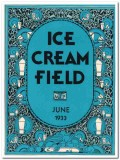 ice cream field 1933 june art deco magazine cover vintage print