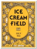 ice cream field 1933 july art deco magazine cover vintage print