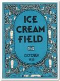 ice cream field 1933 october art deco magazine cover vintage print