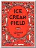 ice cream field 1933 december art deco magazine cover vintage print