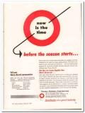 Cherry-Burrell Corp 1952 Vintage Ad Ice Cream Season Starts Supplies