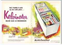 American Motors Corp 1959 Vintage Ad Ice Cream Kelvinator Merchandiser