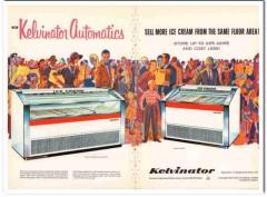 American Motors Corp 1959 Vintage Ad Ice Cream Kelvinator Automatics 1