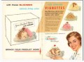 Bloomer Bros Company 1959 Vintage Ad Ice Cream Package Vignettes