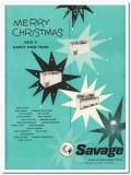 C V Hill Company 1959 Vintage Ad Ice Cream Cabinet Savage Christmas