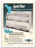 C Nelson Mfg Company 1959 Vintage Ad Ice Cream Merchandiser Automatic