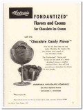 Ambrosia Chocolate Company 1959 Vintage Ad Ice Cream Fondantized