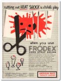American Maize Products Company 1959 Vintage Ad Ice Cream Frodex Shock