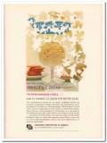 Container Corp America 1959 Vintage Ad Ice Cream Vanilla Package Sales
