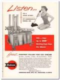 Anderson Bros Mfg Company 1959 Vintage Ad Ice Cream Filler Model 331