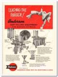 Anderson Bros Mfg Company 1960 Vintage Ad Ice Cream Cup Filling Equip
