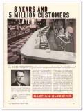 Bastian-Blessing Company 1960 Vintage Ad Ice Cream Lasalle Pharmacy