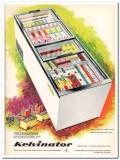 American Motors Corp 1960 Vintage Ad Ice Cream Kelvinator KGT84 KGT80