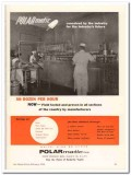 Polarmatic Corp 1960 Vintage Ad Ice Cream Industry Future Conceived