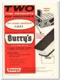 Burry Biscuit Corp 1960 Vintage Ad Ice Cream Sandwich Sales Profitable