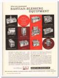 Bastian-Blessing Company 1960 Vintage Ad Ice Cream Equipment Customers