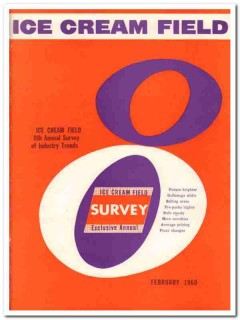 ice cream field 1960 8th annual survey industry trends vintage article